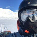 Svalbard. Det blev många, långa turer med snöskoter i väglöst land.
