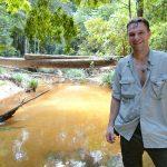 Lång in i Borneo på jakt efter dom återupptäckta noshörningarna. VI tror att vi var en i hälarna.