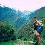 En rent misserabel trek i Bolivias berg. Vi hade leksakstält, det regnade hela tiden och vi var inte riktigt på det klara med vad hög höjd gör med orken. Och att det är skit kallt. Det var dimma nästan hela tiden också så inget såg vi heller. Utom kanske just när bilden togs.