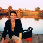 Angkor Wat i Kambodja. Jag och Kerstin var där och gjorde reportage för Packat&Klart. Helt fantastiskt område. En stad av tempel!!! Och vi lyckades komma upp och se soluppgången.